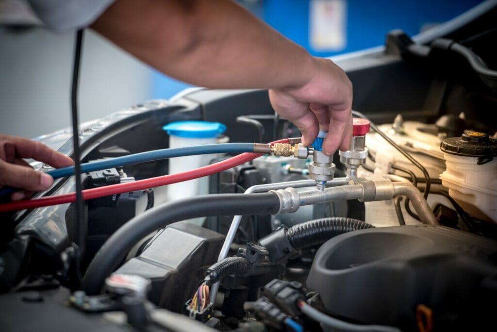 Car Airconditioner Servicing -